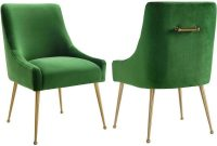 Tov Furniture Tov D46 Beatrix Green Velvet Side Dining Chair within size 1000 X 1000