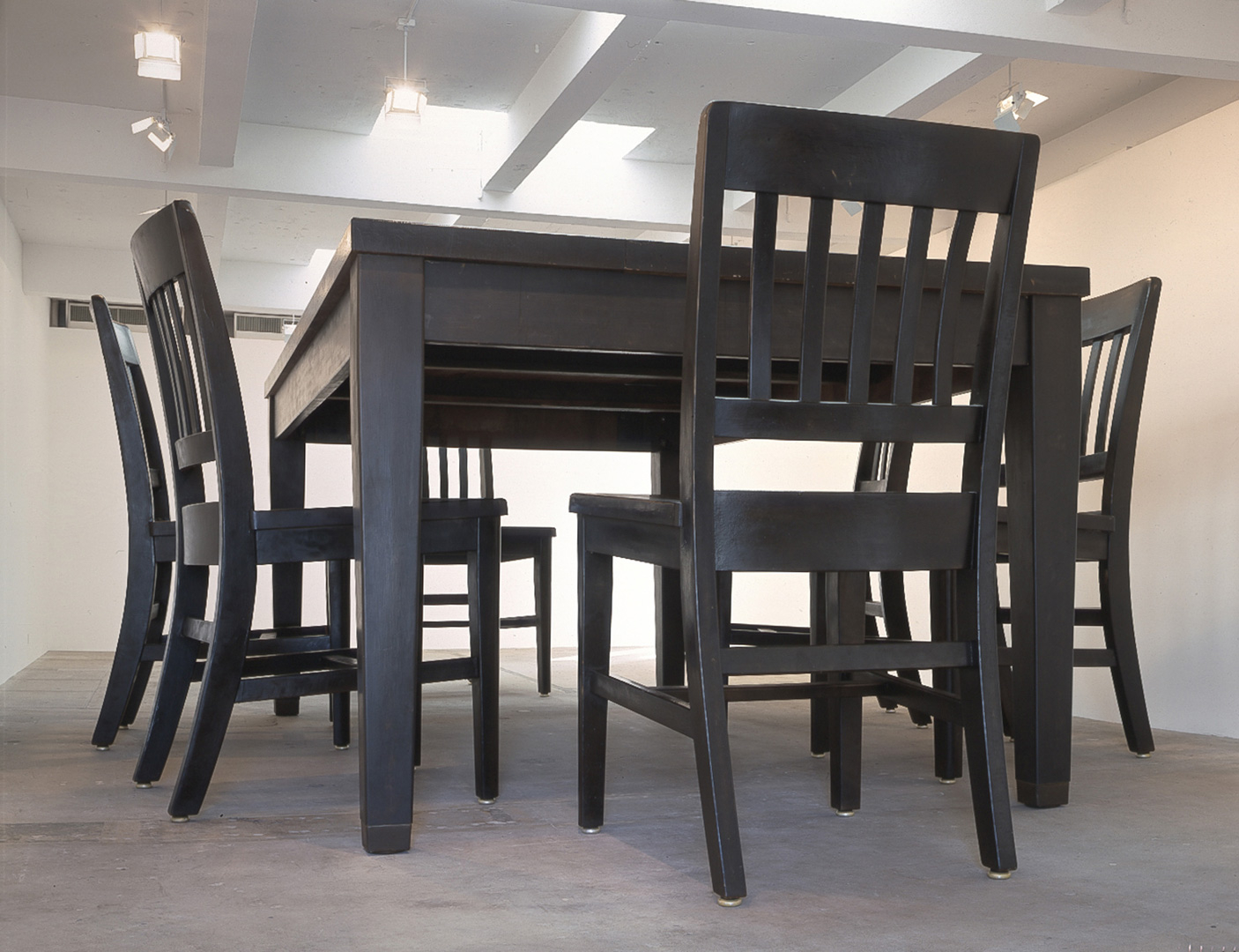 Under The Table Robert Therrien The Broad in measurements 1406 X 1080