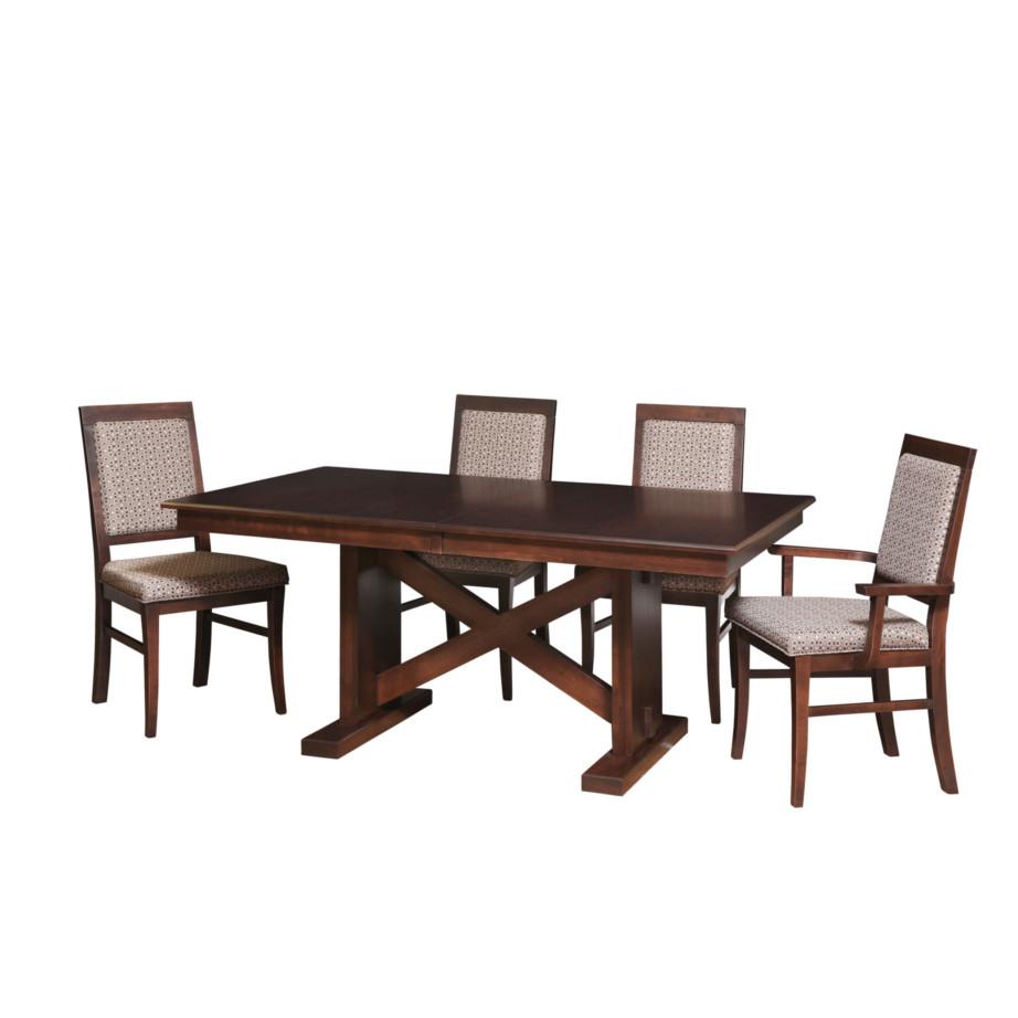 X Base Trestle Table Fannys Furniture Kelowna Bc in dimensions 922 X 922